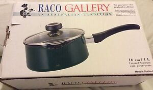 Raco Covered Saucepan with Pourspouts and Glass Lid Birrong Bankstown Area Preview