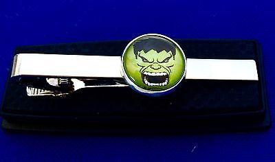 Hulk Tie Clip Superhero Tie Bar Gift Idea