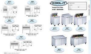 Kool-it sandwich prep table