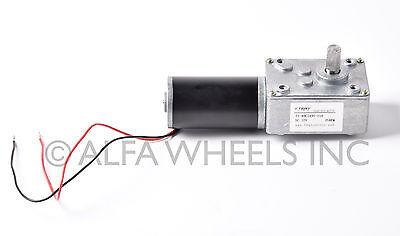Tsiny Small High Torque 12 Volt Reversible 35 Rpm Dc Worm Gear Motor Bbq Drive