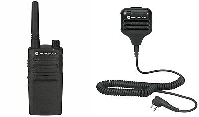 Motorola Rmm2050 Vhf Murs Two-way Radio With Remote Mic. Buy 6 Get A Free Radio