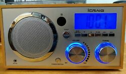 iCraig Alarm Clock Radio for iPod/Phone with remote controller.