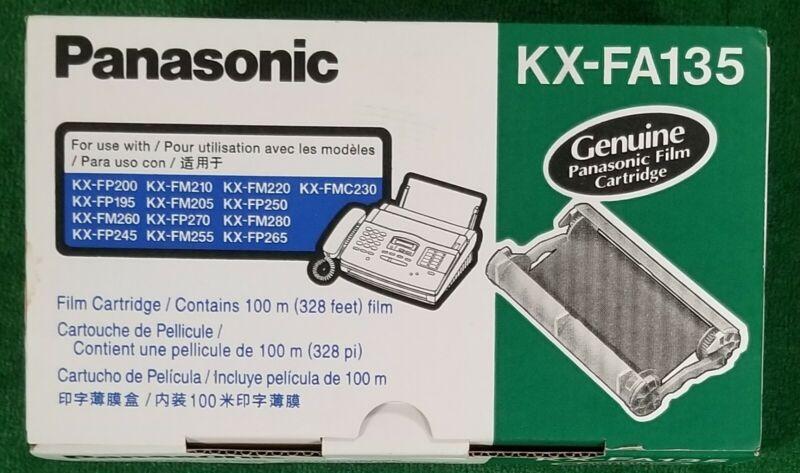 Panasonic  Fax KX-FA135 Genuine Film Cartridge New