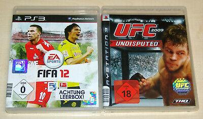 Usado, 2 PLAYSTATION 3 SPIELE SET - UFC UNDISPUTED 2009 & FIFA 12 - PS3 comprar usado  Enviando para Brazil