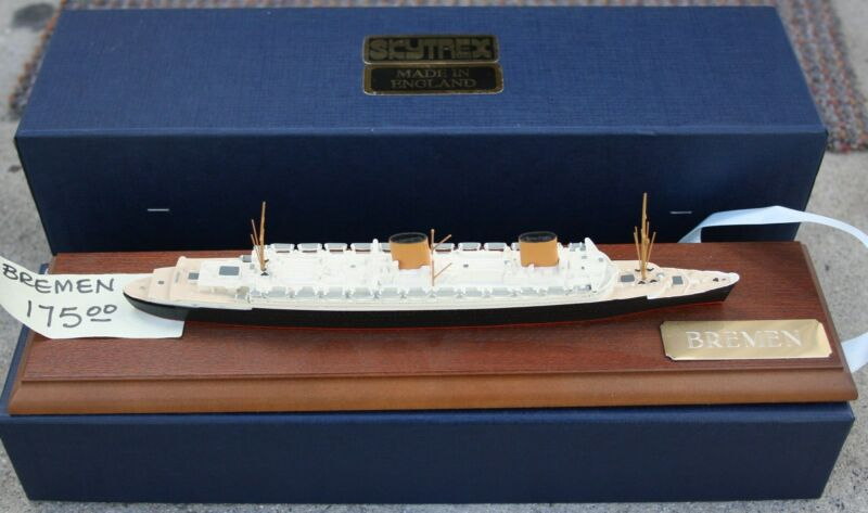 """BREMEN"" VINTAGE NAVAL MINIATURE SERIES SHIPS IN ACCURATE SCALE IN METAL"