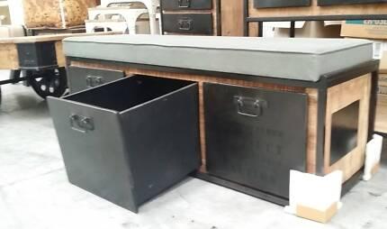Industrial Bench Storage