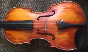 Italian labeled 4/4 violin, Enrico Marchetti  - Full size #150