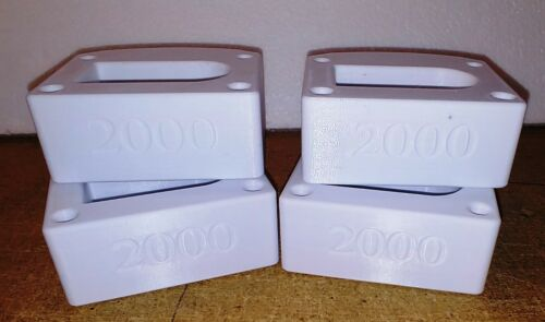 TurboSound-iP2000-series - White Pin-Protectors, will cover two iP2000 units