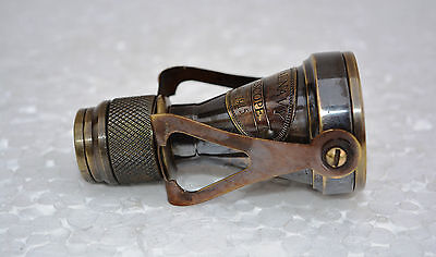 Antique Brass Monocular Binocular Telescope Vintage Nautical Spyglass Scope