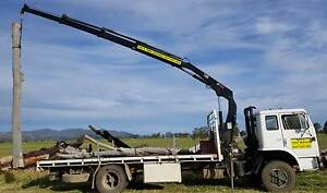 Acco Crane Truck with Hiab Crane, 3 extensions Tamworth Tamworth City Preview