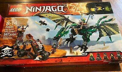 Lego Ninjago- Masters of Spinjitzu, The Green NRG Dragon, 70593
