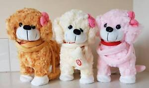 Puppy Dancing Musical Wiggly Toy Puppies Choose Cream Brown Pink