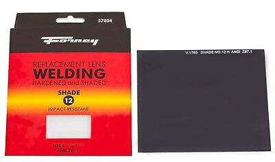 Forney 57054 Replacement Welding Safety Glass Lens Eye Protector Shade 12