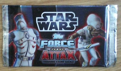 STAR WARS TOPPS FORCE ATTAX SERIES 3 TRADING CARDS