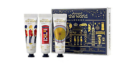 "[THE FACE SHOP] "" World Edition - Londen"" Hand Cream / 30ml x 3ea"