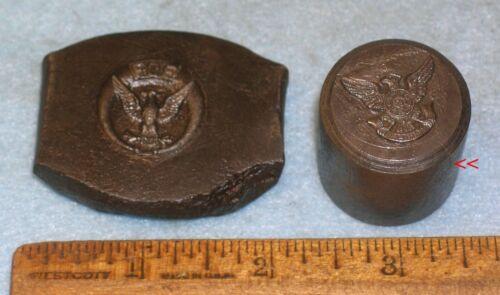 2 Antique Hobs for Stamping Die FRATERNAL ORDER OF EAGLES Baltimore #59