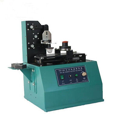 Tdy-300c Pad Printer Ink Printing Machine 380mm 15x50mm2 Square Plate Moderate E