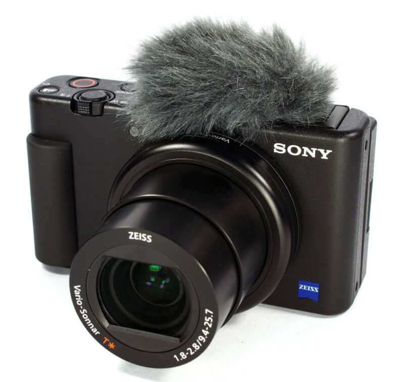 Sony ZV-1 Digital Camera (Black) DCZV1/B