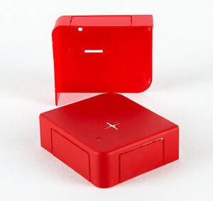 Batterie Polabdeckung Pol Schutzkappe Kappen + Plus - Minus Abdeckung Satz