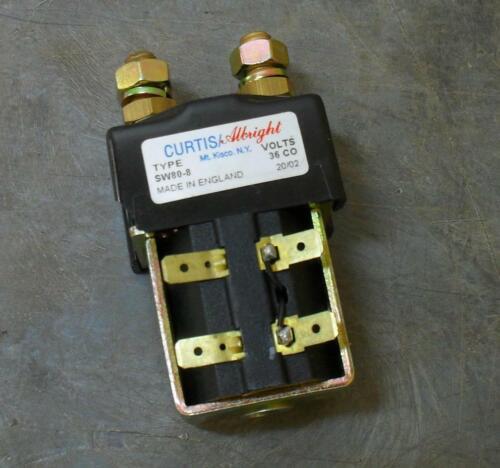 Nilfisk-Advance 56454827 Brush Motor Contactor 36VDC 100A SPST 36 Volt DC