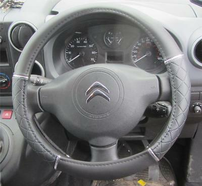 Steering Wheel Covers leather easy fit glove    All Car Makes  Models