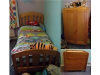 Mamas & Papas Cot-bed, Drawers, & Wardrobe