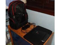 Asus ROG G751JL Laptop with Asus Nomad backpack
