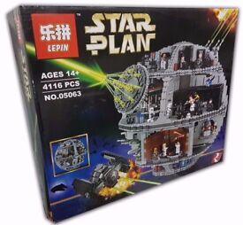 UK STOCK BNIB Lepin Death Star 2017 version (Lego 75159 equiv.)