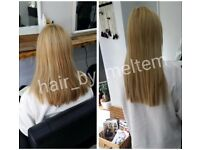 Hair extensions,Nano-Micro Rings,Keratin,Brazilian Blowdry,Tape,Braid- Weft,Wig and Keratin Bond