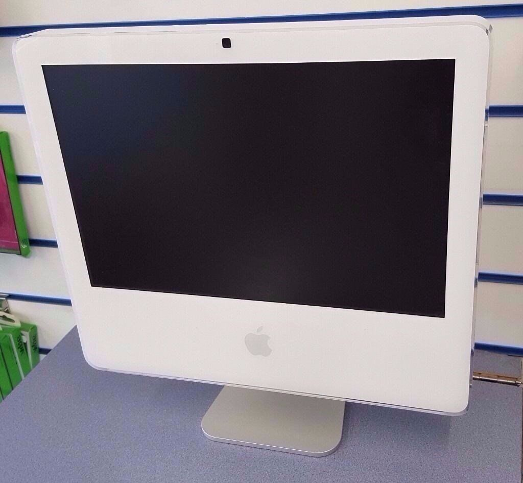 """APPLE IMAC INTEL 2GB 160GB HDD WITH RECEIPTin Coventry, West MidlandsGumtree - APPLE IMAC 17"""" DISPLAY 2006 MODEL INTEL CORE 2 DUO 2GB RAM 160GB HDD MAC OS X STANDARD KEYBOARD AND MOUSE ONLY RECEIPT WILL BE PROVIDED TEL 024 76231562 MANY THANKS"""