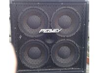 Peavey 410 TX 700 W max 350 W RMS, 4X10 inch Cab with horn