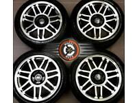 "17"" Brand New VW alloys 5x100, Golf4 Bora Beetle Toledo, polished / black, great tyres."