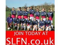 SATURDAY 11 ASIDE FOOTBALL IN LONDON, FIND FOOTBALL TEAM IN LONDON. 20293