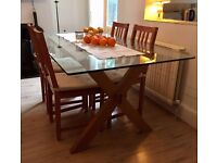 For Sale: John Lewis Dining Table + Optional Set of Chairs. To be collected / East Finchley address.