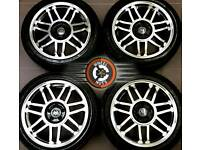 "17"" Brand New VW alloys 5x100, polished over black, great tyres."
