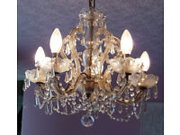 Chandelier for sale, 5 arms