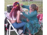 Fantastic Face Painting for your party or event! Reliable and fun, Face Painter & Balloon Twister