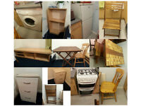fridge, cooker, washing machine, tables, chairs, cabinets 4 day clearance. must collect no later