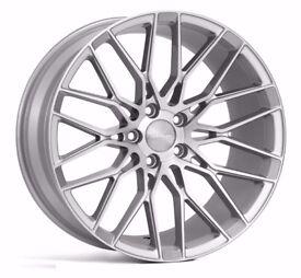 "19"" Veemann V-FS34 Alloy Wheels & Tyres. Suitable for most VW, Audi, Seat, etc."