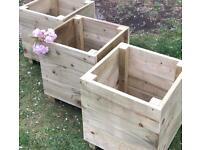 Handmade Garden Planters