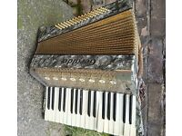 Vintage Accordion along with carrying case £80 ..middleton
