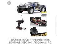 Electric remote control car and battery charger