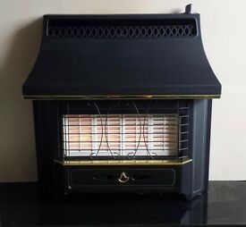Valor Black Beauty Radiant 4.0 KW Gas Fire