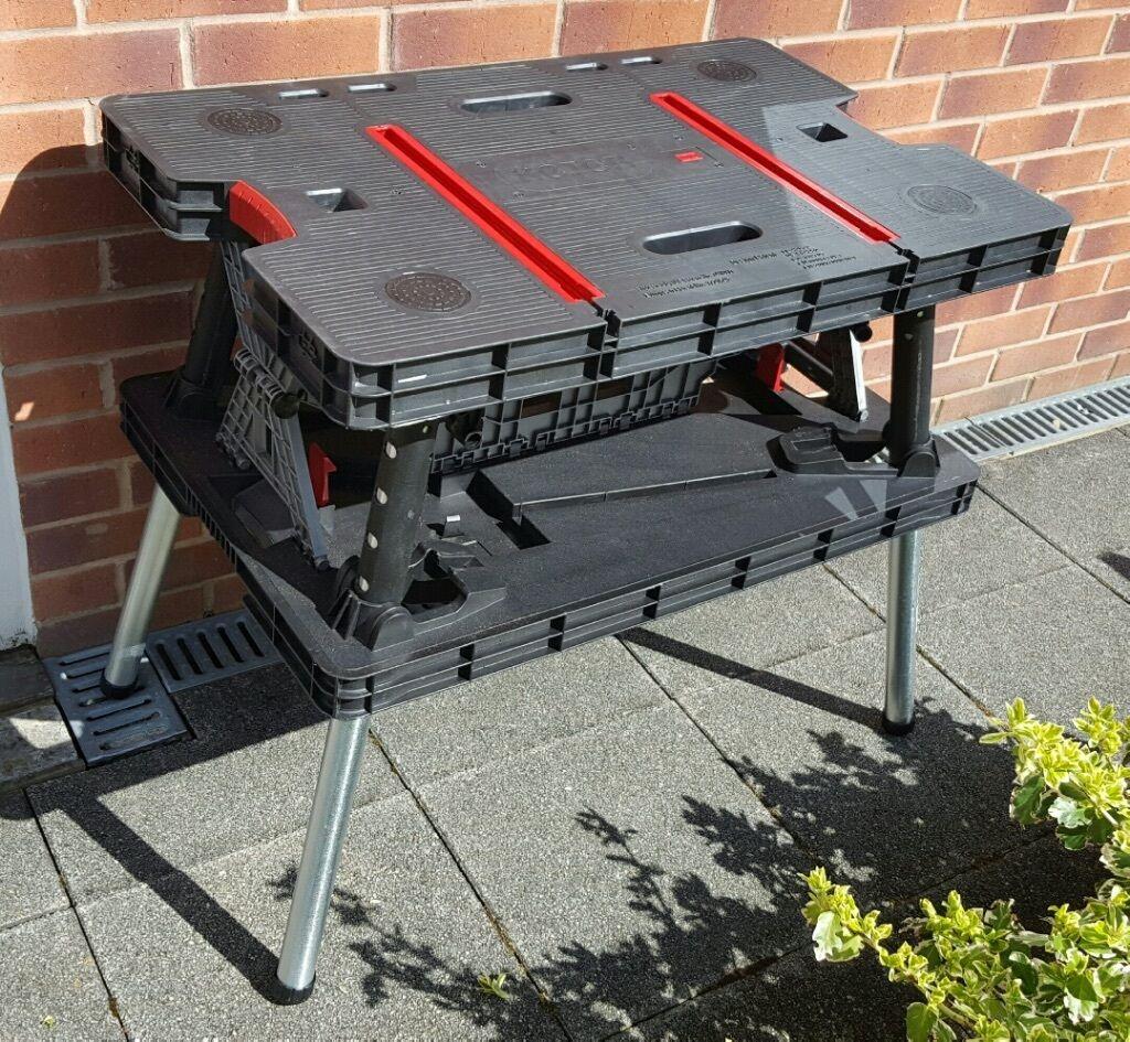 Folding table keter - Keter Foldable Workbench
