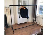 Industrial heavy duty clothing rail 6ft