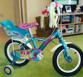 Girls 14inch bicycle