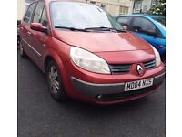 Renault Scenic 2004 1.6L Petrol in good condition