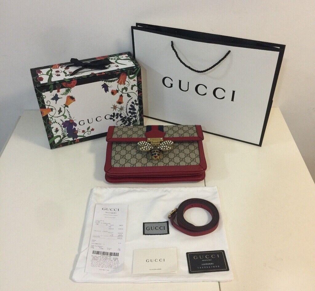 b06934527e49 Gucci - Queen Margaret GG Supreme Medium Shoulder Bag 524356 (RRP £1,690)