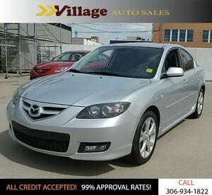2009 Mazda Mazda3 GT Heated Seats, Digital Audio Input, Cd/Mp...