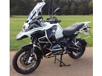 BMW R1200 GS Adventure TE LC water cooled, LED's, ABS, Heated grips etc